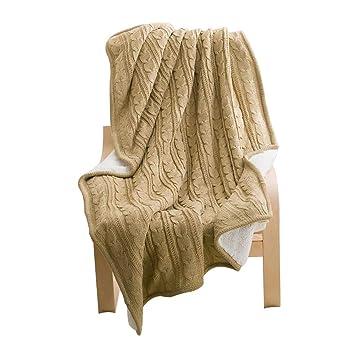 Amazon.com: LVRUI - Manta de cama suave, tamaño para bebés y ...