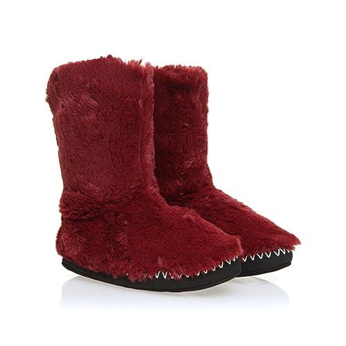 42efcb32745 Animal - Zapatillas de Estar por casa de Material Sintético para Mujer   Amazon.es  Zapatos y complementos