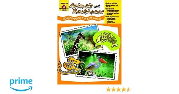 Animals with Backbones, Grades 1-3: Evan Moor: 0023472008541 ...
