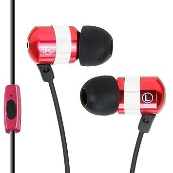 Gogroove Auriculares Intrauriculares / Cascos In Ear Fitness Deporte / Auriculares Cancelación de Ruido y Micrófono