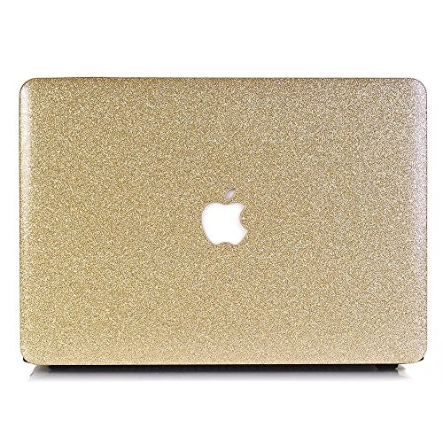 One Micron Macbook 12'' Case, Soft-Touch Crystal Smooth Lightweight Macbook Cover for MacBook 12 Inch (A1534) -Yellow