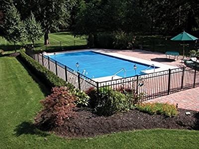 Thermo-Tex 2831224 Swimming Pool Solar Pool Cover, 12' x 24', Blue