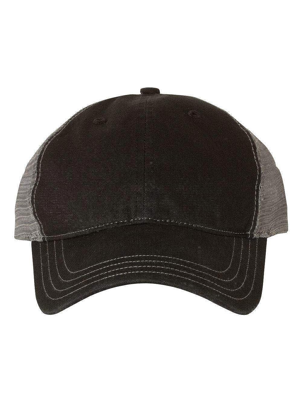 824f2065629 Amazon.com: Richardson Cap Adult Unisex 111 Garment Washed Front/Mesh Back  Caps: Clothing