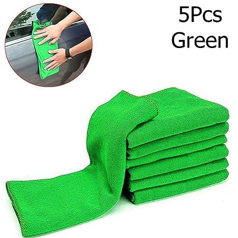 Sujing - Toallas de microfibra para coche (25 x 25 cm)