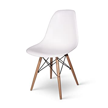 Chaise Eames DSW - Blanc