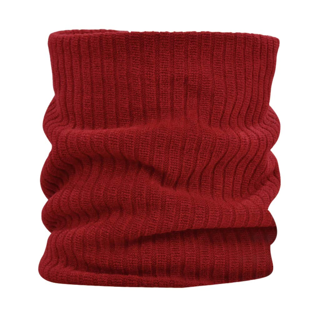 Sikey Windproof Face Mask Multi-Purpose Balaclava Outdoor Winter Sports Thermal Hood Hat Neck Warmer (Red)