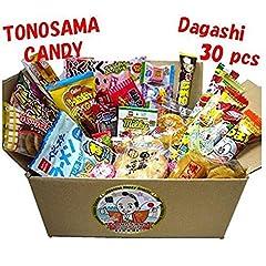 ・Contents are subject to change each time.  ・Contents 30 pcs: Umaibo 5 flavor, Umaibo-choco, Misokatsu Bar, Baby-star, sekoiya chocolate, pachi pachi grapes, Milky matcha candy, Puku-puku air choco, hotcake maple choco, Kabayaki-san, Hello Ma...