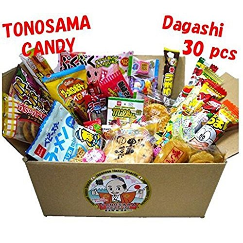 (Japanese candy assortment 30pcs , full of dagashi.