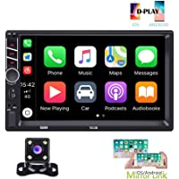 $71 » Hikity Autoradio Car Stereo Double Din 7 Inch HD Touch Screen Radio Bluetooth FM with USB/AUX…