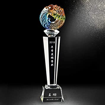 GYFSLG Trofeo De Cristal Decoraciones para El Hogar ...