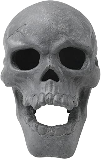 Stanbroil 9-Inch Imitated Human Skull Gas Log