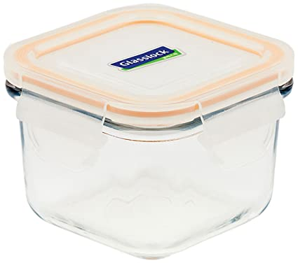 Glass Lock Korea Airtight Break Resistant Glass Kitchen Food Storage  Container, Lunch Box, Microwave
