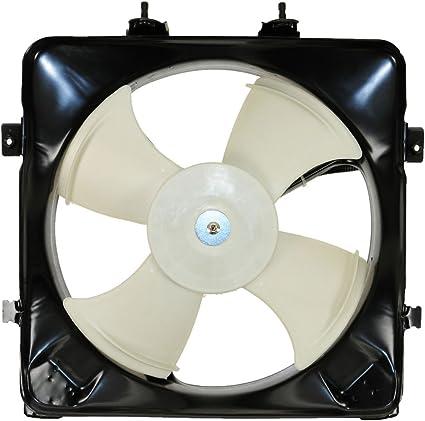 A/C AC aire acondicionado ventilador de condensador para 92 – 97 Cívica del sol: Amazon.es: Coche y moto