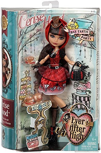Ever After High Maddie Hatter (Ever After High Hat-Tastic Cerise Hood Doll (Discontinued by)