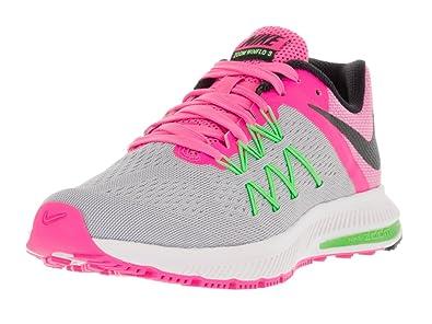 brand new 12b14 e8741 Nike Women s Zoom Winflo 3 Running Shoe (5 B(M) US, WLF