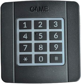 CAME SELT1W8G - Teclado con código de radio exterior (868.35 MHz)