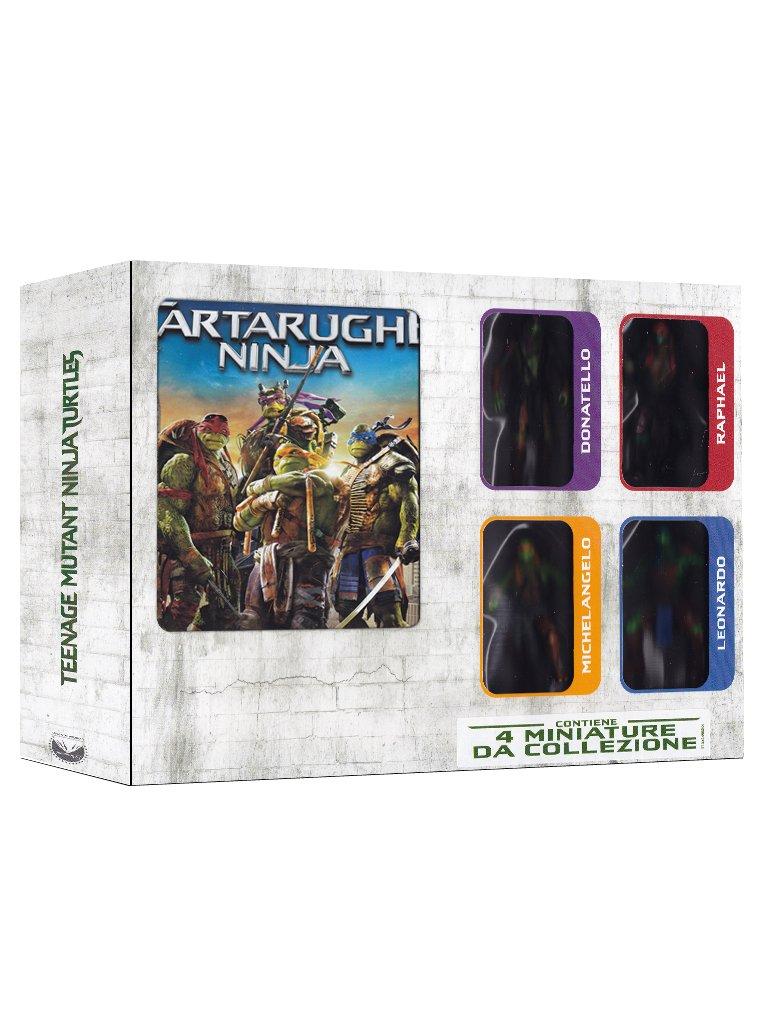 Tartarughe Ninja Collectors Edition Dvd+Blu-Ray+4 miniature ...