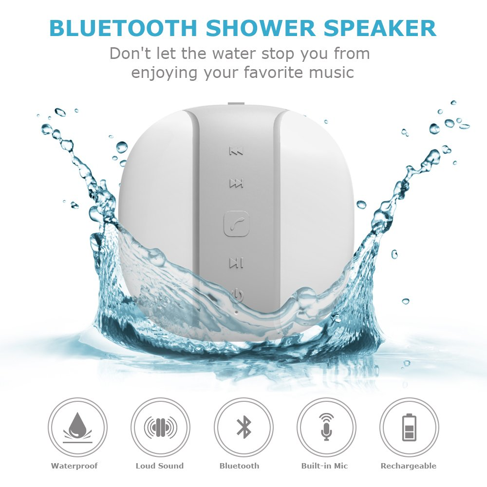 Voads Bluetooth Waterproof Compatible Built Image 1