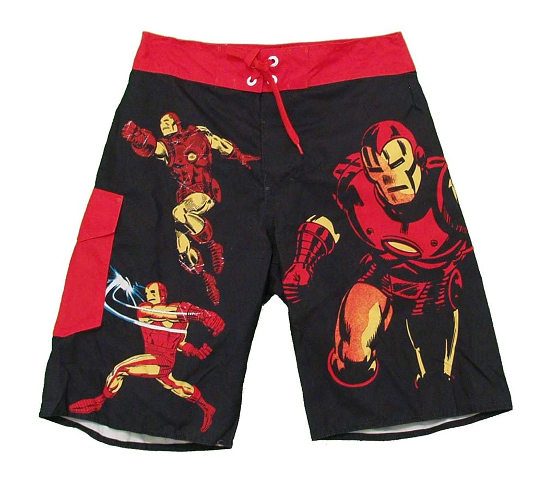 Marvel Comics Iron Man Adult Board Shorts