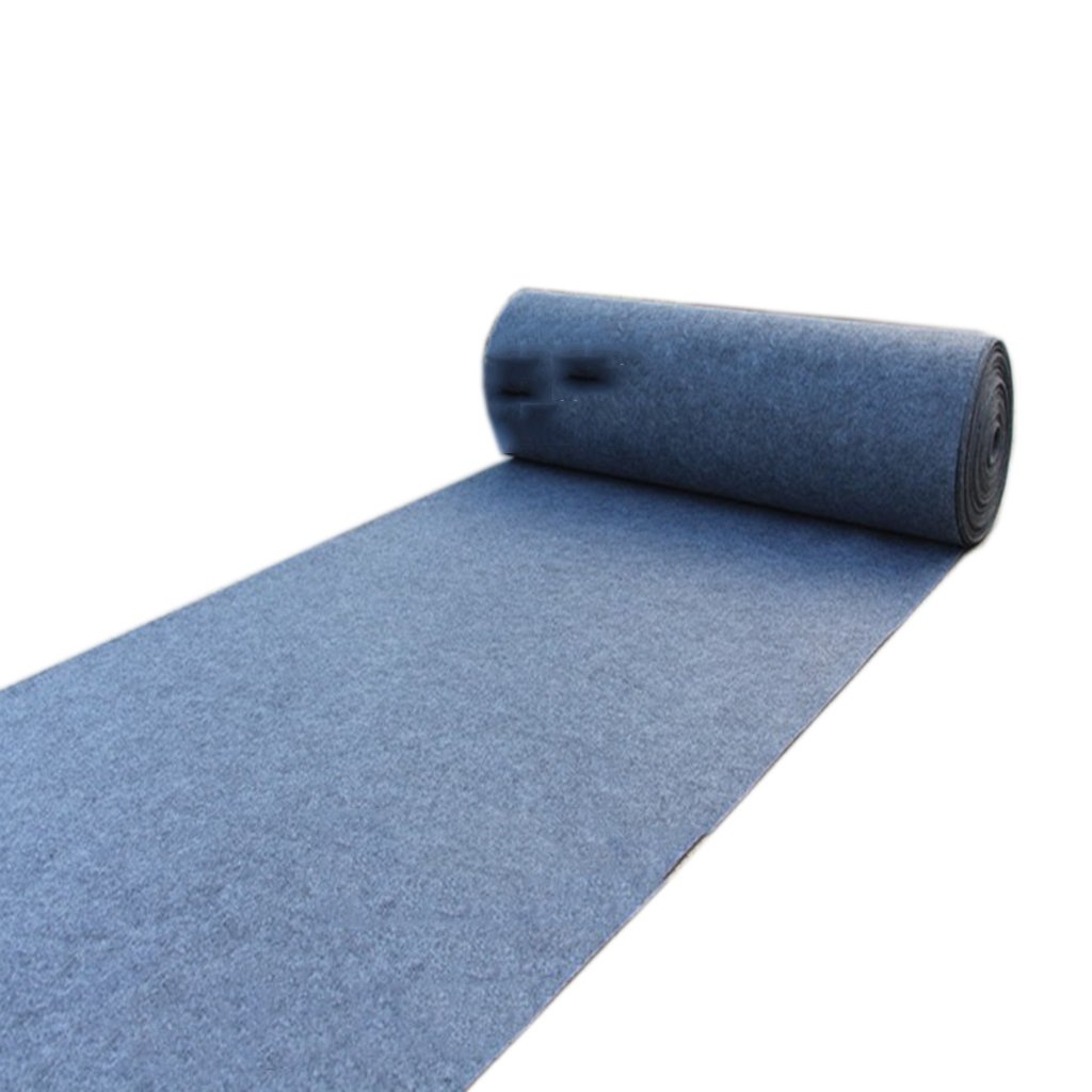 Ren Chang Jia Shi Pin Firm Alfombras Infantiles Alfombra desechable Boda Show Alfombra Alfombra t Alfombra Exterior desechable Alfombra Larga Yoga tapete (Color : Gray, Size : 1 * 20m)