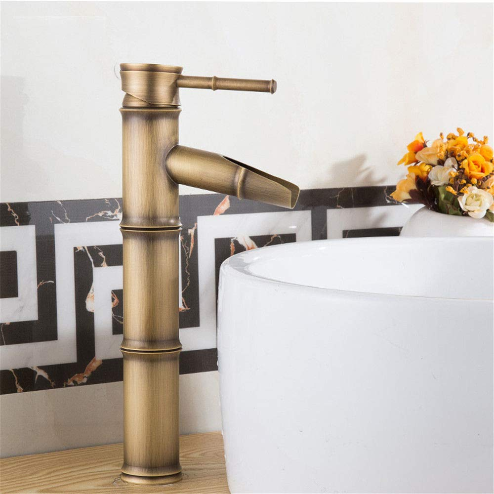 A2 Hlluya Professional Sink Mixer Tap Kitchen Faucet All copper antique antique faucet single hole basin mixer redation C1
