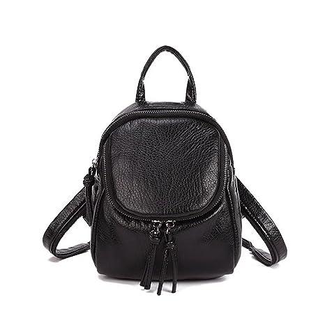 208c085679 fairysan da donna tempo libero in pelle piccolo zaino scuola borsa da  viaggio borsa borsa a