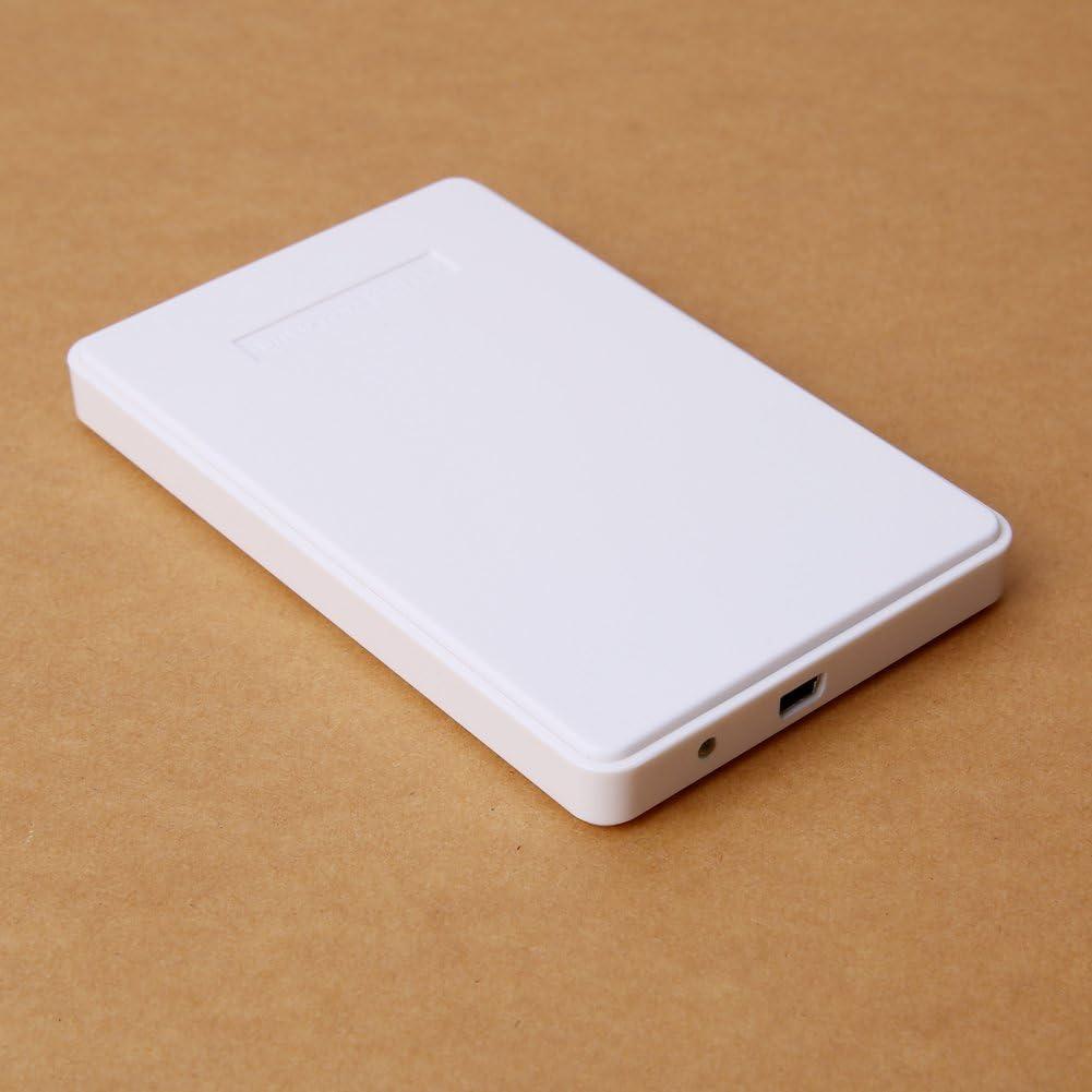White Mac OS 8.6 or later Vanpower 2.5Inch USB 2.0 SATA Hd Box HDD Hard Drive External Enclosure Case For windows XP//Vista//Win7//Win8//Win10