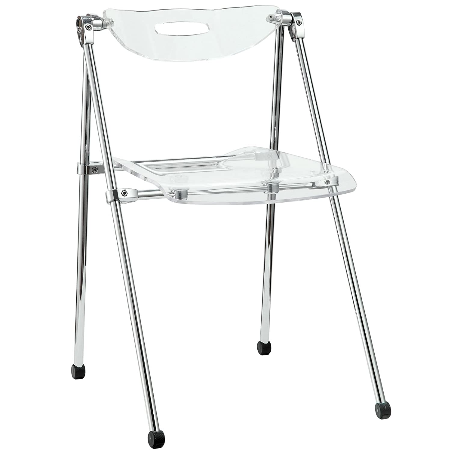 Amazon LexMod Telescoping Chair in Clear Chairs
