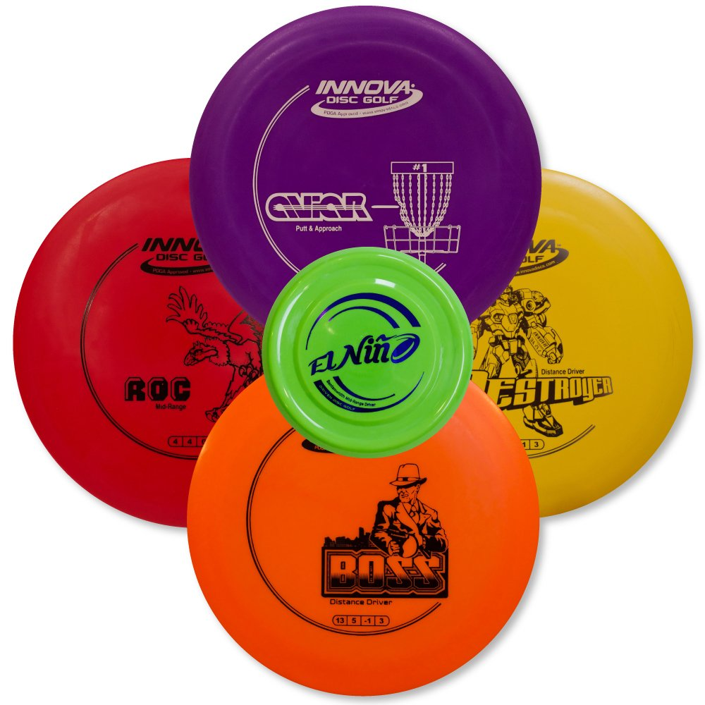 Driven Disc Golf Set - Advanced Players Pack 4 Disc Set - Innova Bundles for Intermediate to Advanced Throwers by Driven Disc Golf (Image #2)