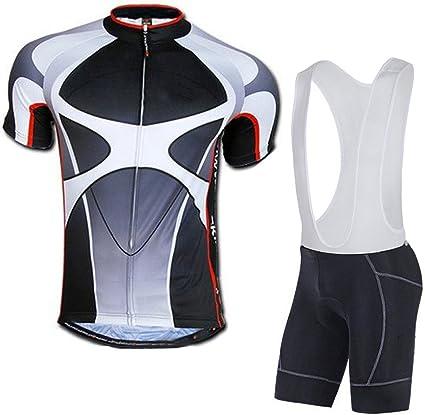 Bicycle Bib Shorts Men's Cycling Jersey Set Bicycle Kit For Men With Bibs Shorts