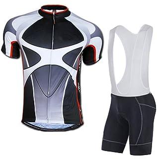5272149c049dc sponeed Men's Shorts Bib and Jersey Cycling Kits Set Road Bike Outdoor  Riding Sportswear