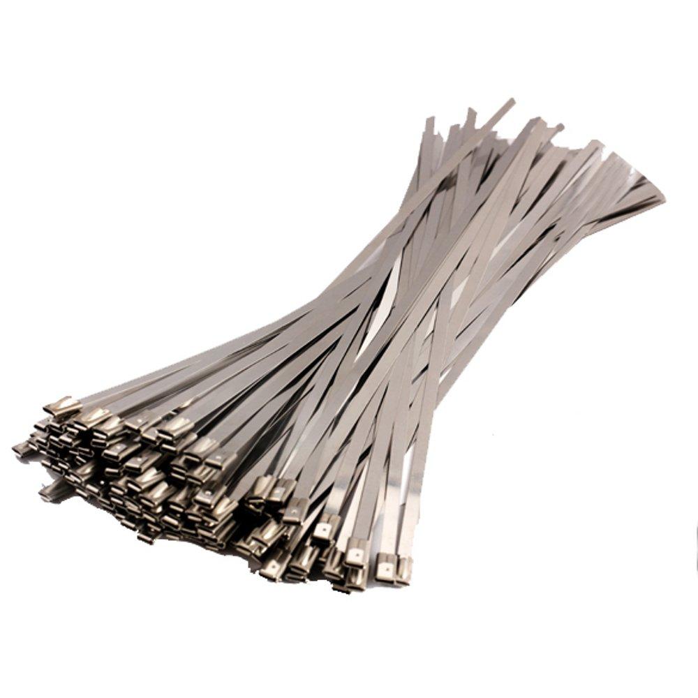 Stainless Steel Cable Ties Zip Ties Heat Tie Wraps 370 x 4.5 Pack of 3