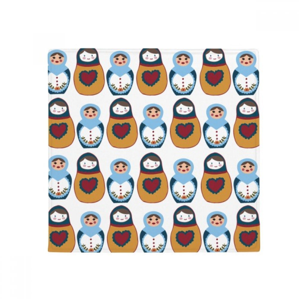 DIYthinker Russia Doll Poster Matryoshka Country Culture Anti-Slip Floor Pet Mat Square Home Kitchen Door 80Cm Gift