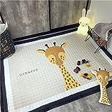 LAGHCAT Children Rug Thickening Carpet with Animal