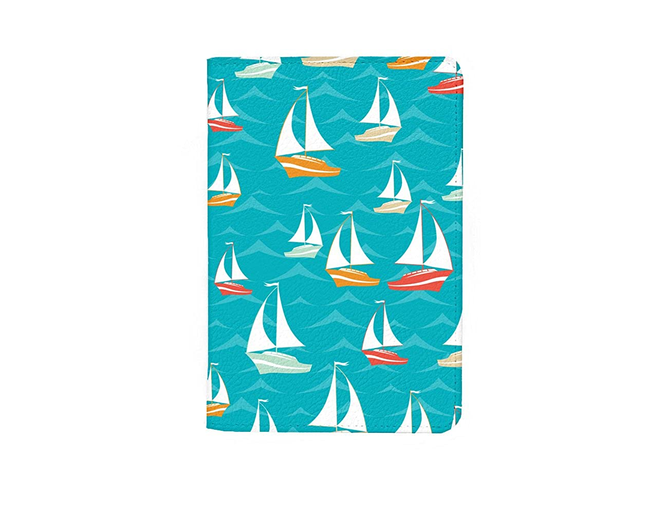 SUPERTRAMPshop Travel Ship Ocean Leather Business ID Passport Holder Protector Cover