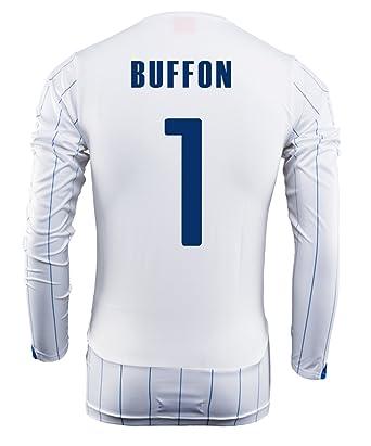 07f9589956c Amazon.com  Puma Buffon  1 Italy Away Jersey Long Sleeve World Cup ...