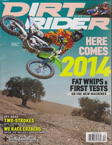 Dirt Rider Magazine October 2013 (Motorcycle Energy Helmet Monster)