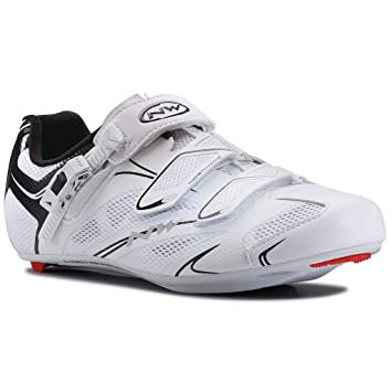 Northwave de Sonic SRS zapato zapatos carretera-negro, blanco: Amazon.es: Deportes y aire libre