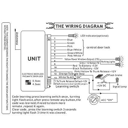 Central Door Power Lock Wiring Diagram. . Wiring Diagram on