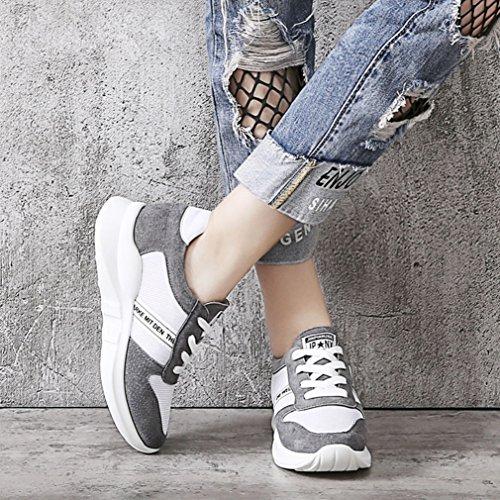 Zapatillas Mujer Gris De Jrenok Deporte PqwdZFF