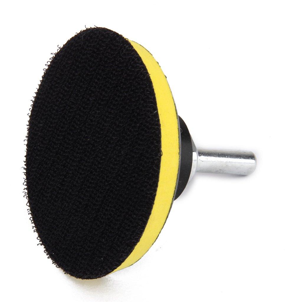 2X M10 Backing Pad Sanding Pad Polishing Pad for Polishing Machine Polishing Sponge Fuse Polishing Buffing Plate