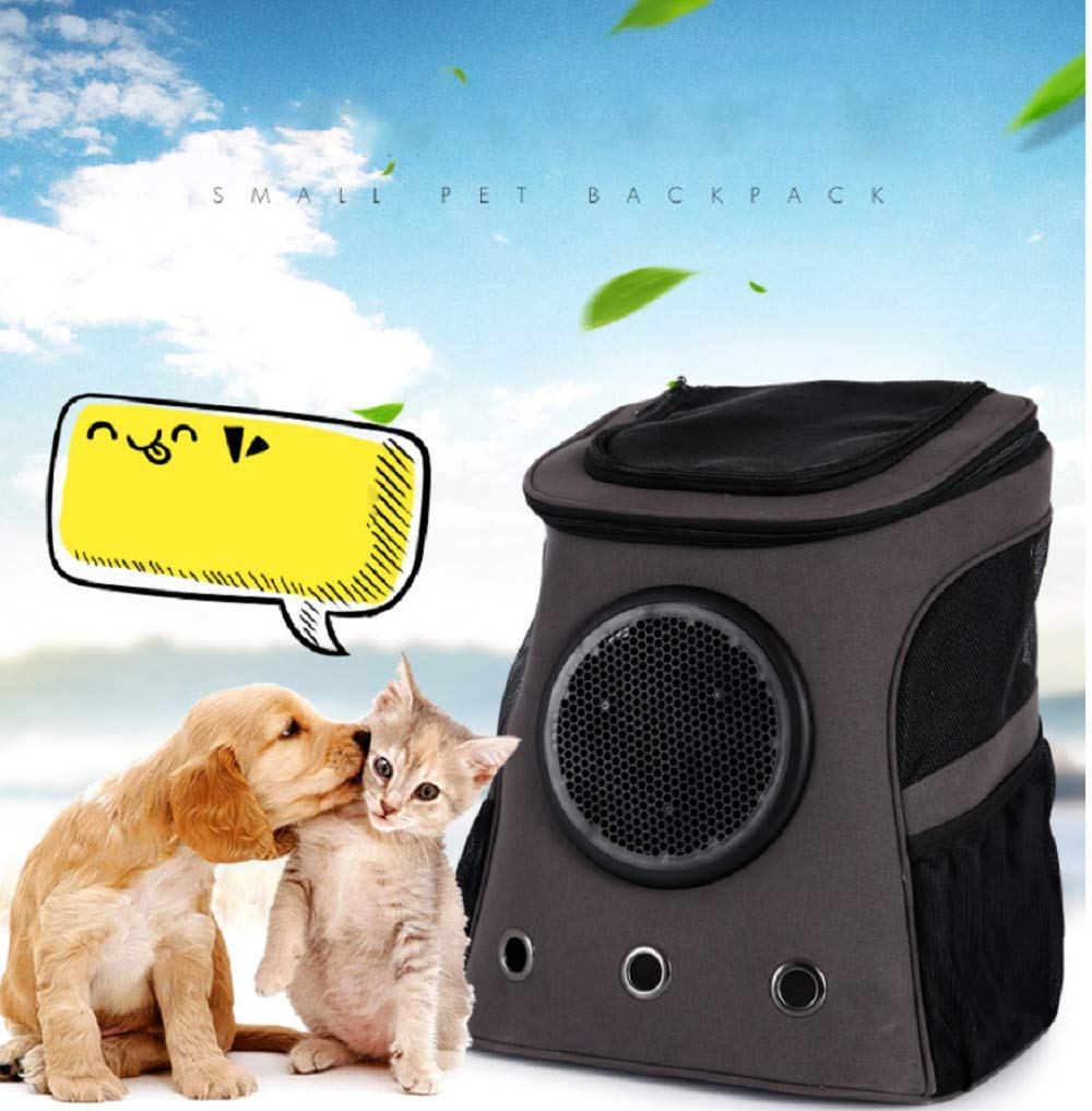 Pet Space Backpack, Portable, With Ventilated Windows And Space Capsules, You Can Also See Pets,Waterproof Lightweight Handbag For Small Dogs Cats Petite Pets