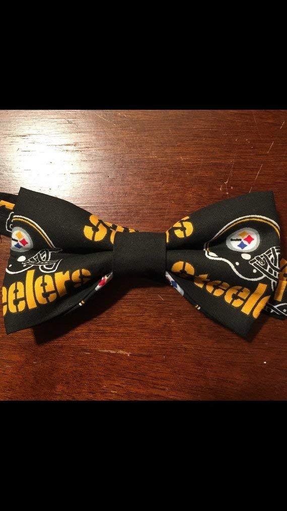 Pittsburgh Steelers NFL Fan Adult bow tie