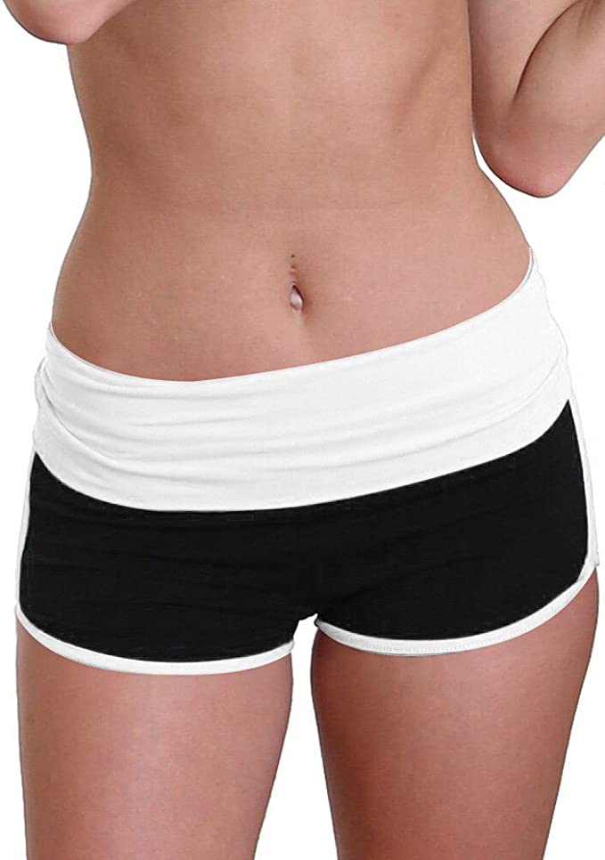 Womens Yoga Sport Shorts, Ladies Summer Running Pants ...