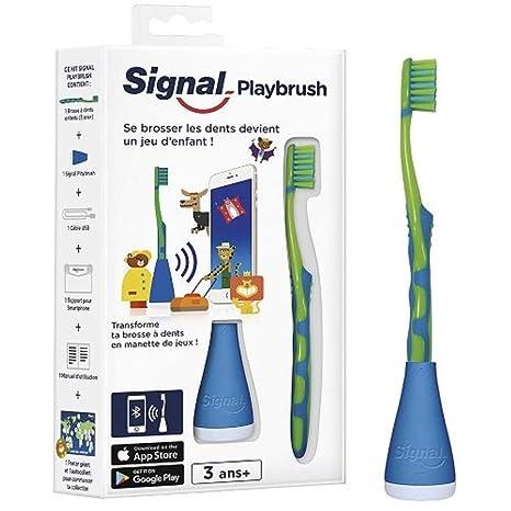 Signal Playbrush – Cepillo de dientes conectado para niños, diferentes colores