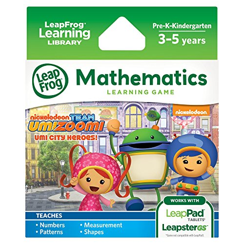 LeapFrog Team Umizoomi Learning Game: Umi City Heroes (for LeapPad Tablets and LeapsterGS) (Leapfrog Learning Friends Preschool Adventures Learning Game)