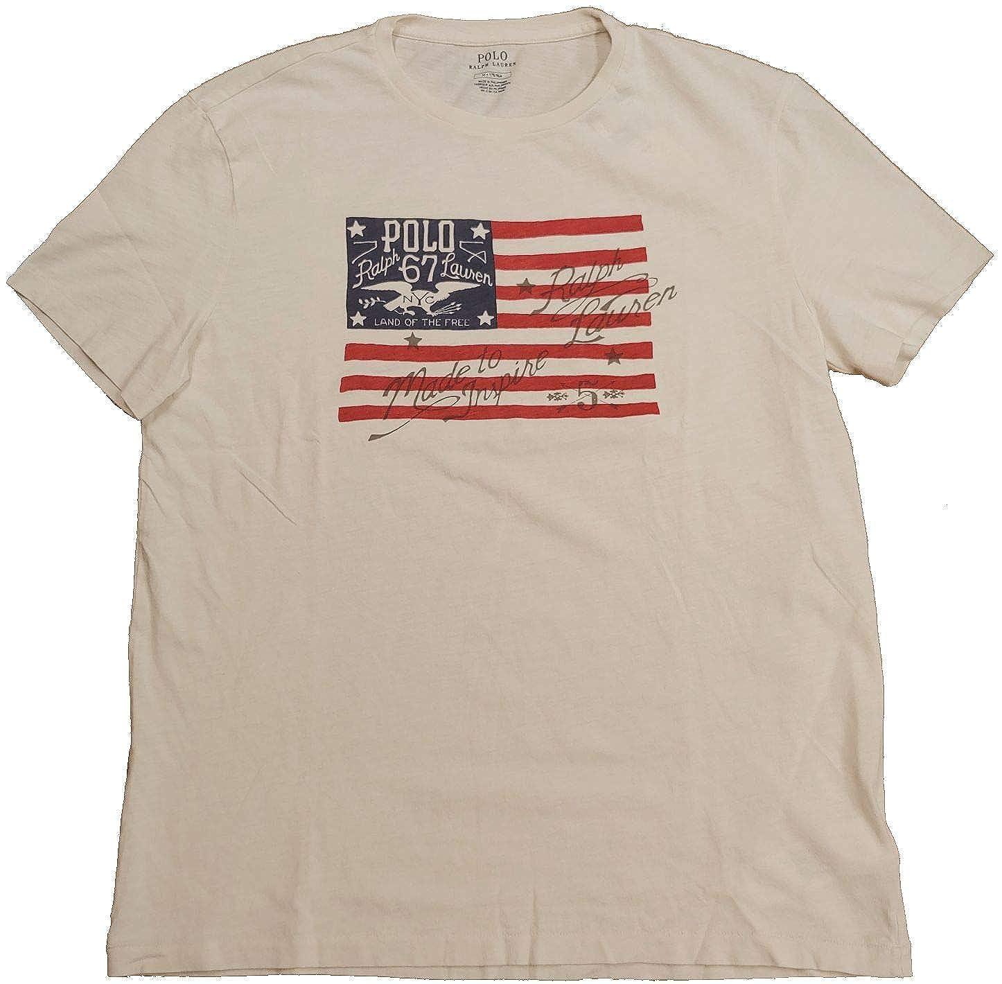 1919b1a8 Polo Ralph Lauren Mens Graphic Short Sleeve Graphic T-Shirt | Amazon.com