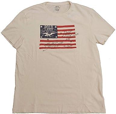T Graphic Shirt Polo Sleeve Lauren Short Ralph Mens VMpGqSUz