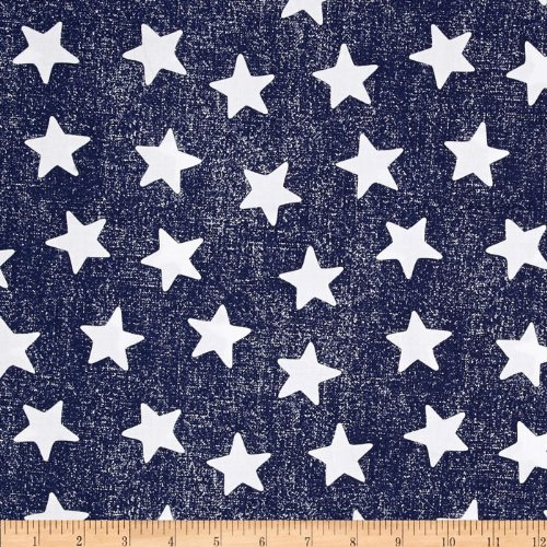 Michael Miller Star Struck Navy Fabric by The