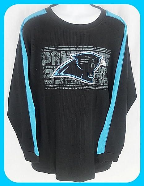 bac10288 Amazon.com : VF Carolina Panthers Long Sleeve Thermal Shirt Big and ...